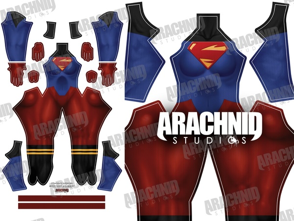 Supergirl Dye-sub pattern
