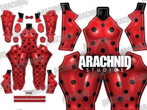 Miraculous Ladybug Dye-sub pattern