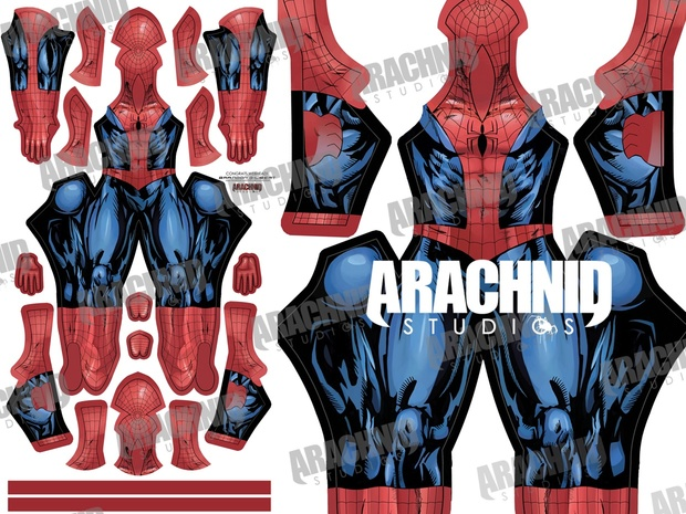 Bagley's Ultimate Spider-Man Dye-sub pattern