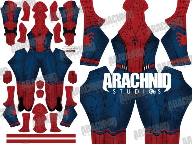 Civil War *Concept* Spider-Man Dye-sub pattern