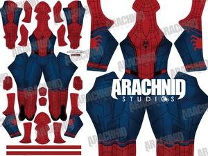 Civil War *Concept* Spider-Man Dye-sub pattern (V2: NO Web Shooters/Cartridges)