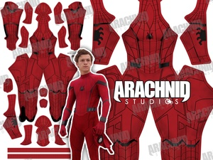 Homecoming Scarlet Spider-Man Dye-sub pattern