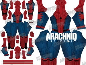 Homecoming Spider-Man Dye-sub Pattern