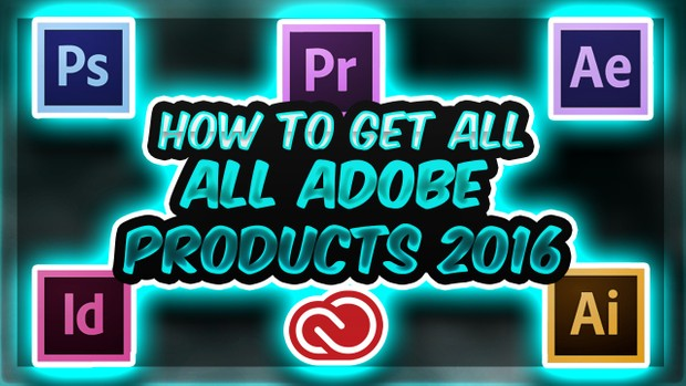 ALL ADOBE CC PRODUCTS CRACK!