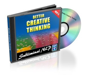 Better Creative Thinking Subliminal MP3 Download
