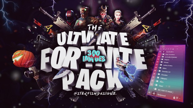 The Ultimate Fortnite Pack 300+ Images