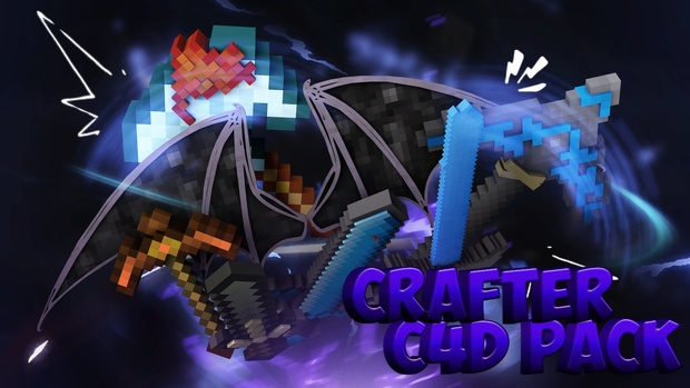 Craftergraphics Cinema4D Pack