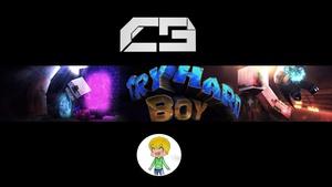 Minecraft Banner I Craftergraphics
