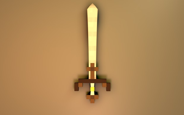 Minecraft C4D Sword