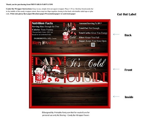 printablecandybarwrapperchristmas-holiday-itscoldoutside-red-white
