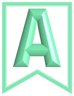 SWALLOWTAIL-PRINTABLE-ALPHABET-BANNER-LETTERS-mint-green-white