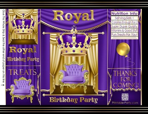 custom-chip-cookie-treat-favor-bags-personalized-potato-chip-royal-birthday-purple