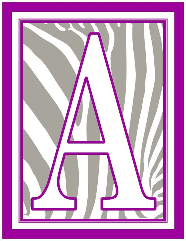 8.5x11-inch-purple-white-grey-zebra-rectangle-banner-printable-alphabet-letters-a-z