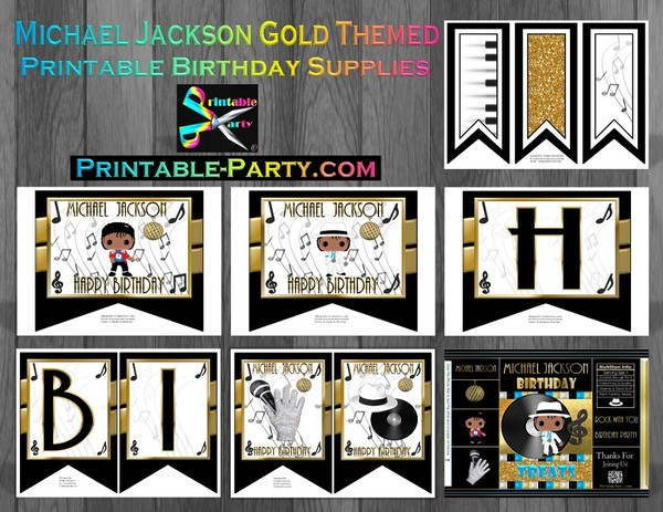 MICHAEL-JACKSON-THEMED-BIRTHDAY-SUPPLIES-GOLD