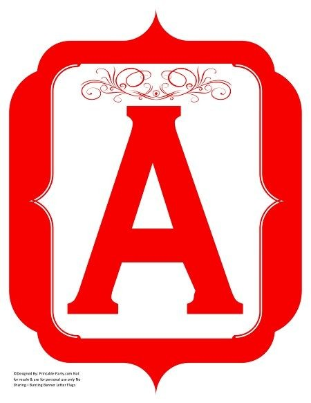 fancy-red-printable-banners-letters-numbers