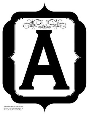 fancy-black-printable-banners-letters-numbers