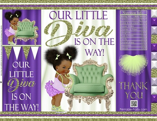 printable-chip-bags-royalprincesspurplelgreen-african-baby-shower