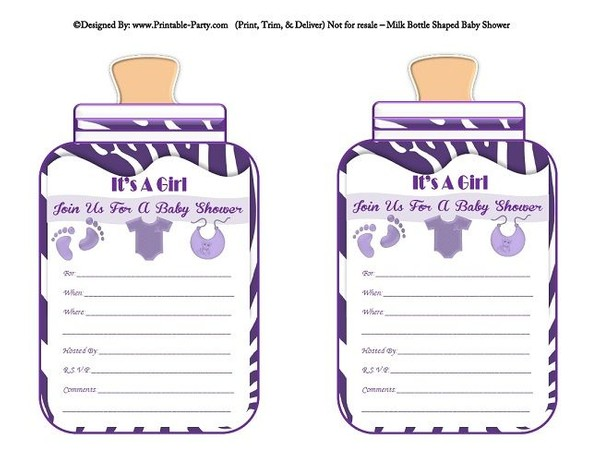 printable-purple-zebra-feet-girl-baby-bottle-shaped-baby-shower-invitations