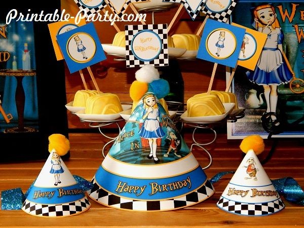alice-in-wonderland-printable-party-supplies-birthday-hats