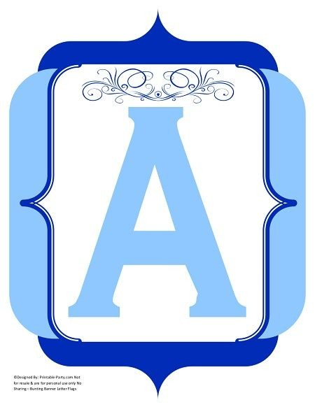 fancy-light-blue-dark-blue-printable-banners-letters-numbers