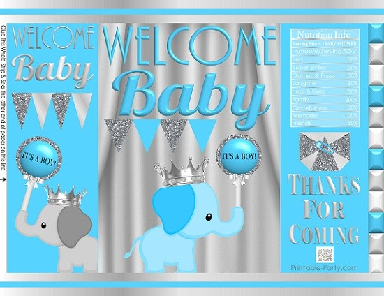 printable-potato-chip-bags-babyshowerprinceboyelephantbluesilver