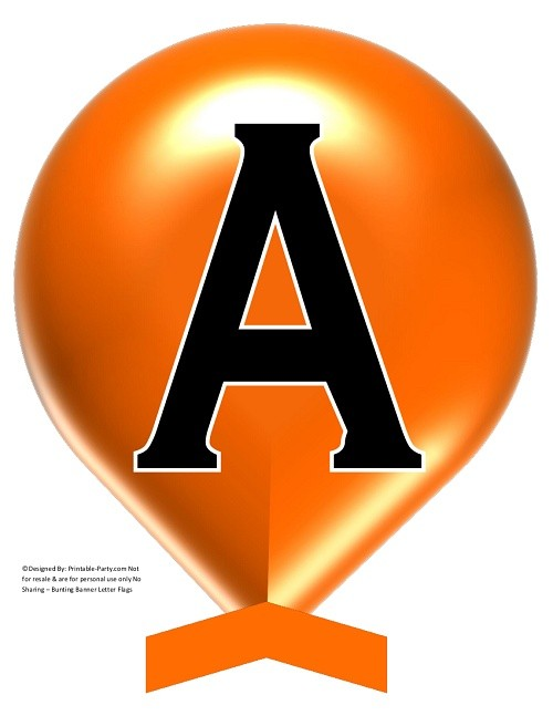LARGE-ORANGE-BALLOON-PRINTABLE-BANNER-LETTERS-A-Z-0-9