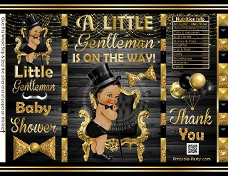 printable-POTATO-chip-bags-little-gentleman-BABY-SHOWERblackgold