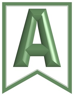 SWALLOWTAIL-PRINTABLE-ALPHABET-BANNER-LETTERS-olive-green-white