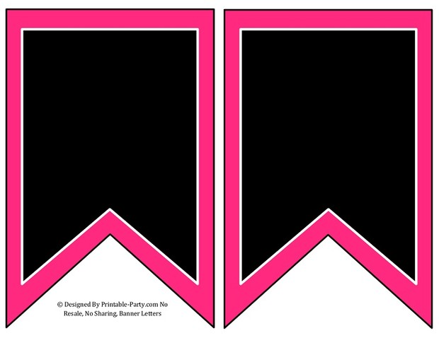 5-inch-swallowtail-pink-black-printable-banner-letters-a-z-0-9