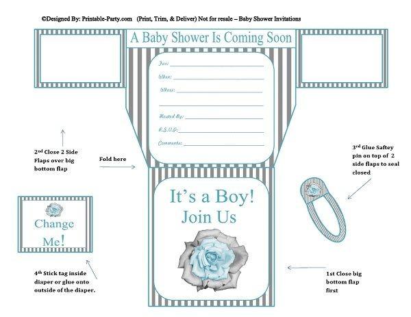 grey-white-stripes-blue-flower-diaper-boy-printable-baby-shower-invitation
