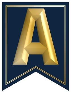 SWALLOWTAIL-PRINTABLE-ALPHABET-BANNER-LETTERS-NAVY-GOLD