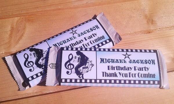 Michael Jackson Birthday Cards Printable