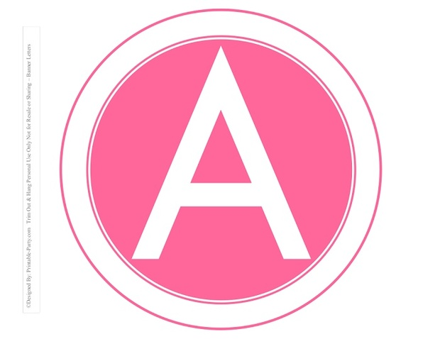 8-INCH-WHITE-PINK-ROSE-CIRCLE-PRINTABLE-BANNER-LETTERS-A-Z-0-9