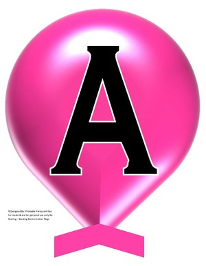 LARGE-PINK-BALLOON-PRINTABLE-BANNER-LETTERS-A-Z-0-9