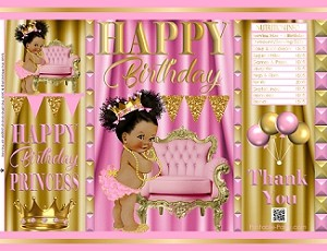 printable-chip-bags-royal-princess-pinkgold-african-birthday