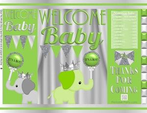 printable-potato-chip-bags-baby-shower-prince-boy-elephant-apple-green-silver