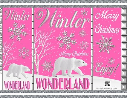 printable-chip-favor-bags-Christmas-winter-wonderland-silver-white-pink