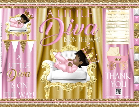 printable-chip-bags-royal-princess-pinkgold-african-baby-shower03