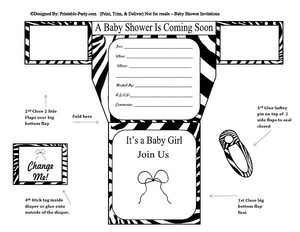 black-zebra-diaper-girl-baby-shower-invitation