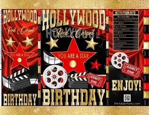 printable-potato-chip-bags-hollywood-birthday-red-gold