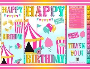printable-chip-bags-circus-CARNIVAL-BIRTHDAY-PINK-YELLOW-AQUA