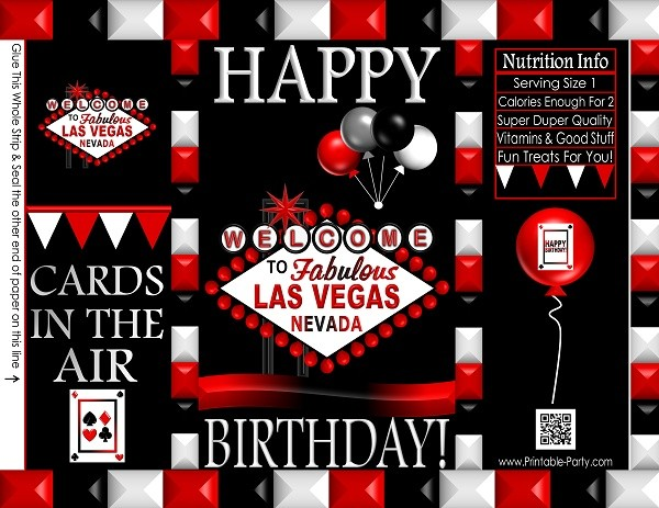 cookie-treat-favor-bags-potato-chip-LAS-VEGAS-CASINO-RED-BLACK