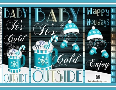 printable-chip-gift-bags-Christmas-its-cold-outside-teal-blue-white-hot-cocoa
