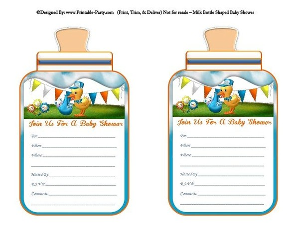 printable-blue-orange-stork-its-a-boy-babies-bottle-shaped-baby-shower-invitations