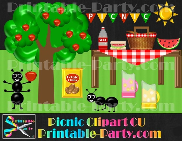 picnic-clipart-commercial-use-royalty-free