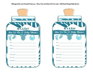 printable-blue-zebra-feet-boy-baby-bottle-shaped-baby-shower-invitations