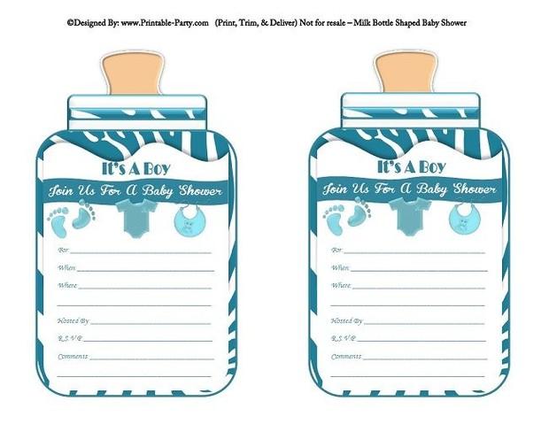 printable-blue-zebra-feet-boy-baby-bottle-shaped-baby-shower-invitations