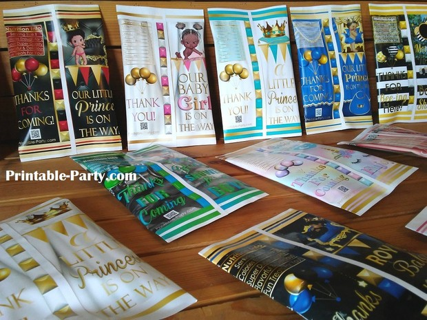 printable-chip-bags-royal-princess-pinkgold-african-birthday