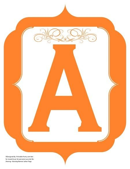 fancy-orange-printable-banners-letters-numbers