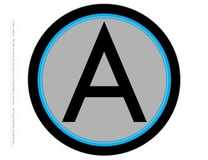 8-INCH-BLACK-GREY-BLUE-CIRCLE-PRINTABLE-BANNER-LETTERS-A-Z-0-9